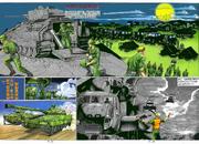 BIO HAZARD 2 VOL.6 - pages 18 and 19