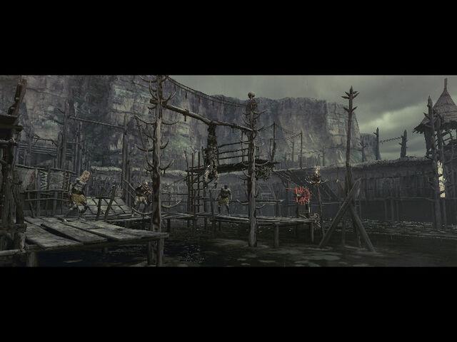 File:Execution ground in RE5 (Danskyl7) (4).jpg