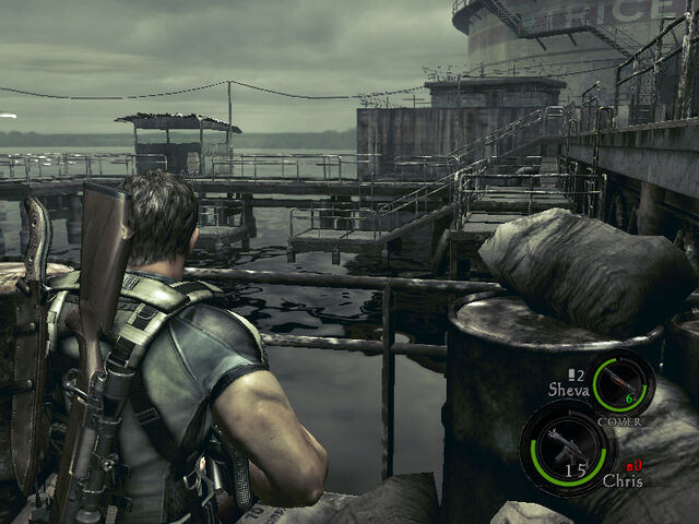 File:Oil field dock in-game (RE5 Danskyl7) (3).jpg