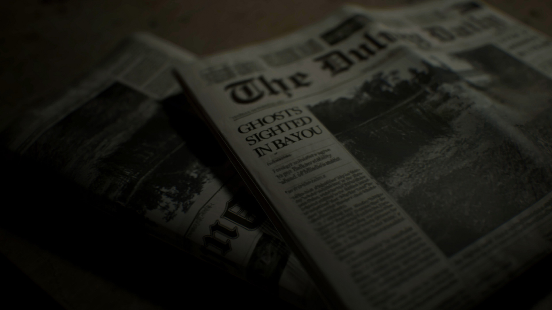 Fichier:Resident Evil 7 - Ghost Sighting newspaper.jpg