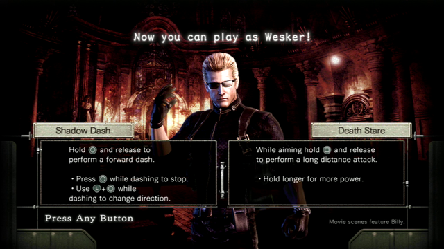 File:RE0HD Wesker Mode controls.png
