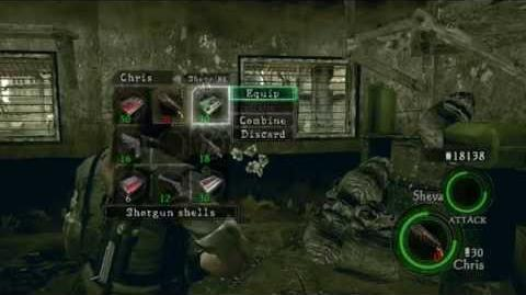 Resident Evil 5 - Introduction to Advanced Combat