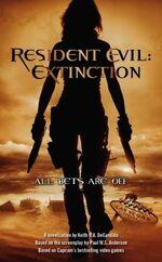 Resident Evil Extinction (Novel)