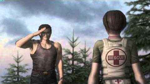 Resident Evil The Umbrella Chronicles all cutscenes - Train Derailment 3 ending
