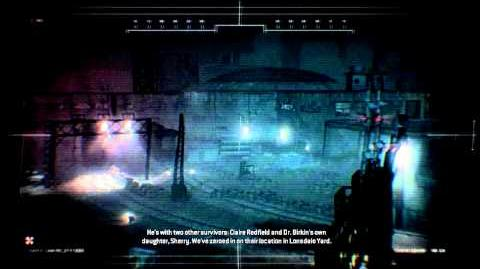 Resident Evil Operation Raccoon City all cutscenes - End of the Line Briefing