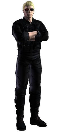 Wesker CV ConceptArt