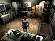 Resident Evil 3 Nemesis screenshot - Uptown - Warehouse office pickup 03