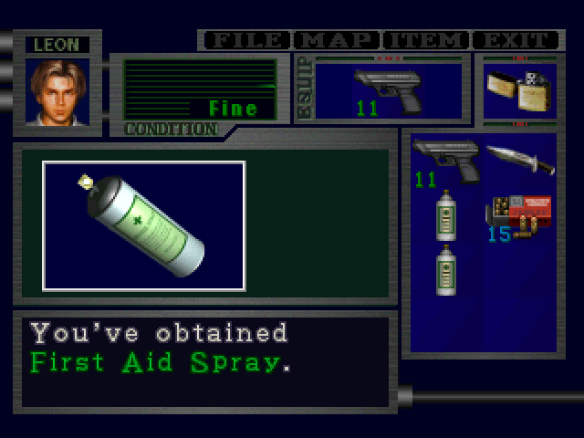 File:RE2 First Aid Spray pickup 02 proto.png