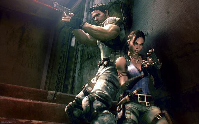 File:Resident Evil 5 - Sheva and Chris wallpaper.jpg