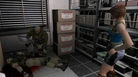 Resident Evil 3 Nemesis cutscenes - Coldhearted Soldier