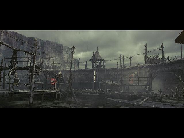 File:Execution ground in RE5 (Danskyl7) (3).jpg