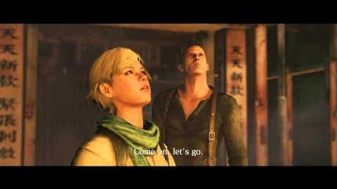Resident Evil 6 all cutscenes - Chopper Attack (Jake's version)