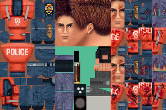 File:BIOHAZARD 1.5 textures - Leon RPD armor (November 1996 build).png