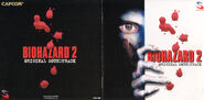 Biohazard 2OST booklet cover