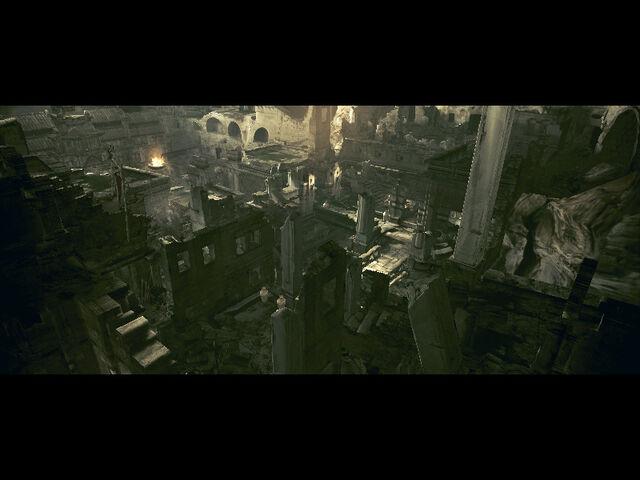 File:Ancient village in-game RE5 (Danskyl7) (1).jpg
