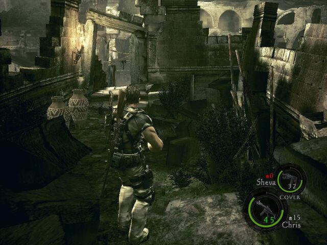 File:Ancient village in-game RE5 (Danskyl7) (2).jpg