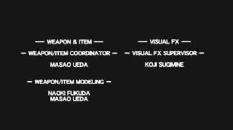 Credits - Resident Evil Outbreak File 2