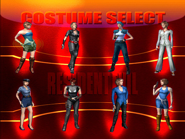 File:RE3 Dreamcast Costume Select.jpg