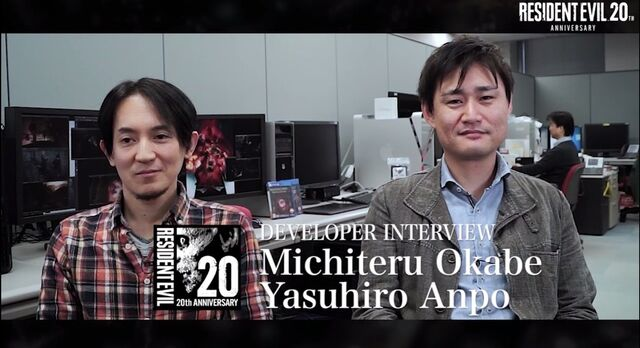 File:Resident Evil 20th Anniversary Interview Yasuhiro Ampo and Michiteru Okabe.jpg