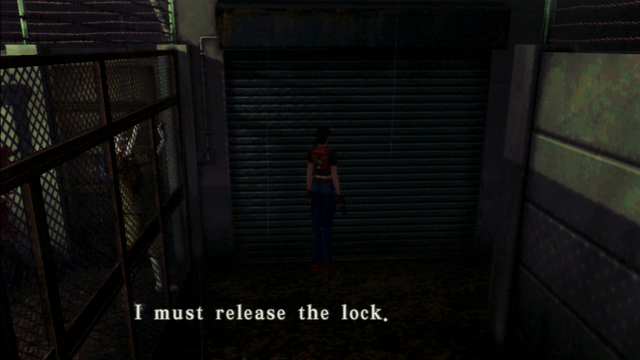 File:Resident Evil CODE Veronica - square in front of the guillotine - examines 04-2.png