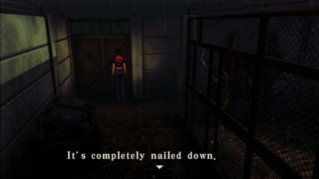 File:Resident Evil CODE Veronica - square in front of the guillotine - examines 01-1.png