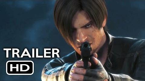 Resident Evil Vendetta - Official Trailer 1 (2017) Animated Movie HD