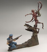 Biohazard Figure Collection - Jill Valentine vs. Chimera