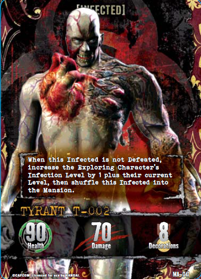 Tyrant Card Game Outbreak Card Tyrant t 002