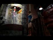 Resident Evil 3 Nemesis screenshot - Uptown - Street along apartment building - Jill Valentine scene 05