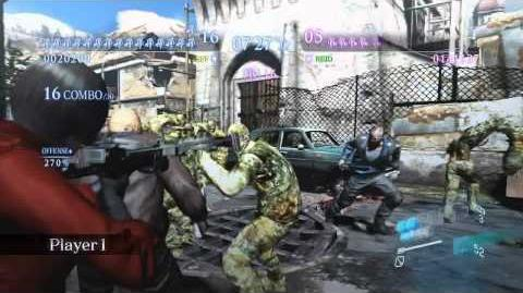 RESIDENT EVIL 6 Multiplayer DLC - Onslaught Mode