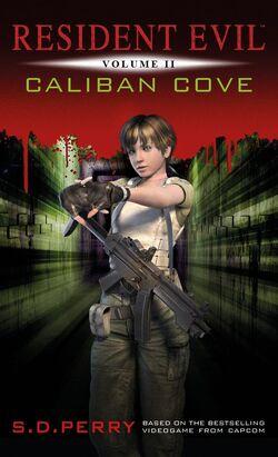 Resident Evil Caliban Cove - Titan Books front cover