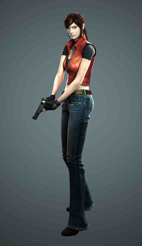 File:Resident Evil The Darkside Chronicles - Game of Oblivion - Claire Redfield render.jpg