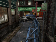 Resident Evil 3 background - Uptown - boulevard j1 - R10309