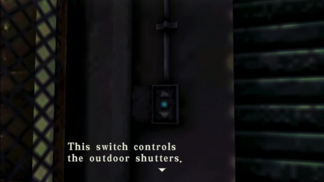 File:Resident Evil CODE Veronica - square in front of the guillotine - examines 05-1.png