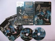 Ps2 resident evil 4 premium edition ntsc steelbook content2