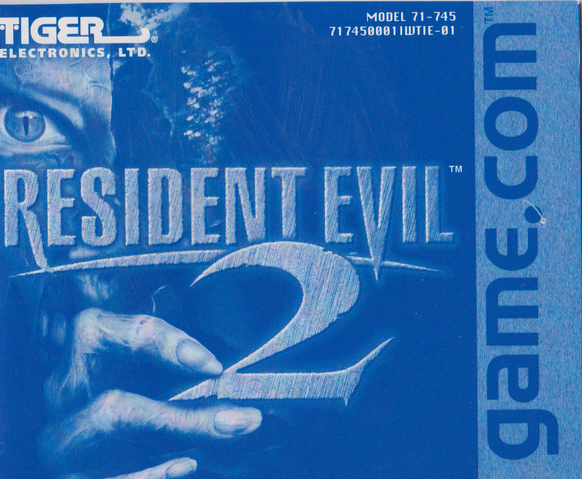 File:Tiger Resident Evil 2 - Manual front cover.png