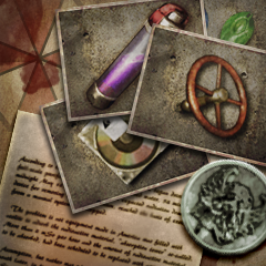 File:Umbrella Chronicles Trophy icon - Archive Collector.png
