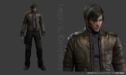 Leon s. kennedy re degeneration