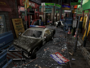 Resident Evil 3 background - Uptown - boulevard g1 - R10306
