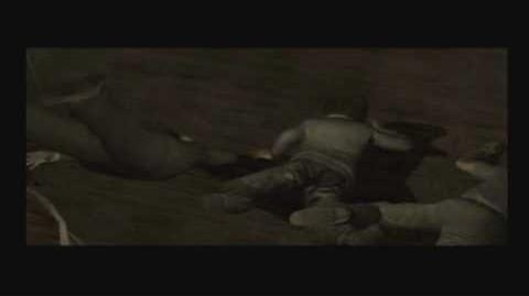 Resident Evil Outbreak cutscenes - 04-2 - Outbreak - The Zombies Break In 2