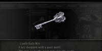 Castle Gate Key