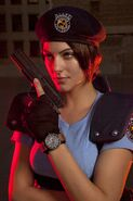 Julia Voth as Jill Valentine 9