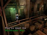 Resident Evil 3 Nemesis screenshot - Uptown - Warehouse examine 10