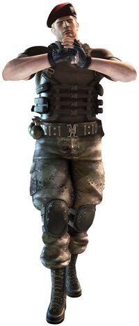 RE Mercenaries 3D Krauser psd jpgcopy
