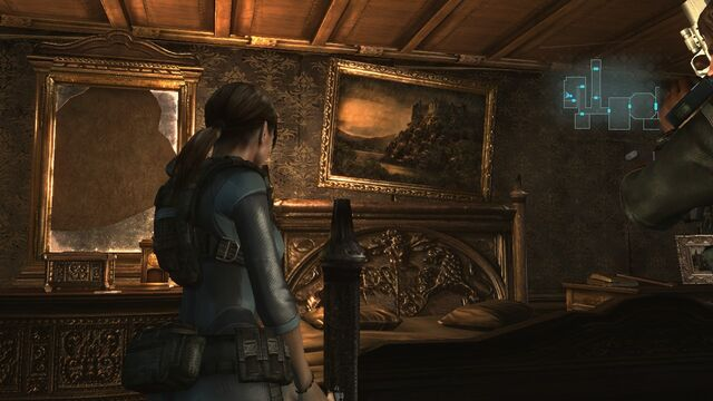 File:Resident Evil Revelations - Jill Valentine - Spencer Estate painting in the Queen Zenobia.jpg