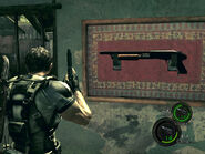 A shotgun in re5