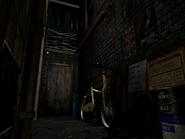 Resident Evil 3 background - Uptown - warehouse back alley e1 - R10204