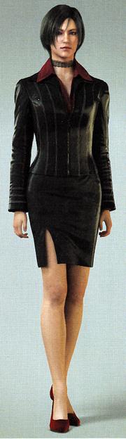 Ada Wong - Biohazard Damnation - CGI Model (Scan) - 2