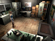 Resident Evil 3 screenshot - Jill in Warehouse office