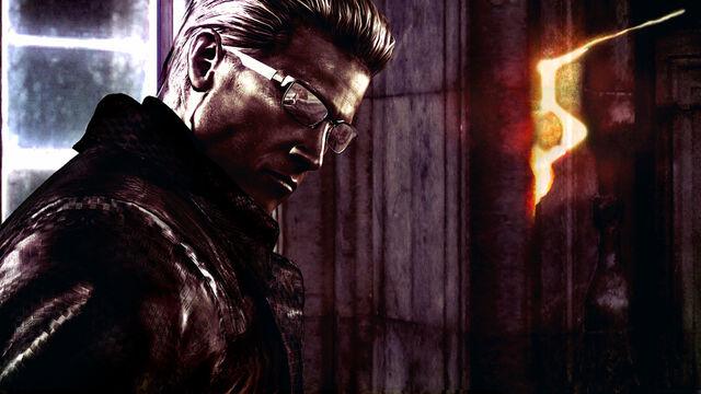 File:Resident Evil 5 - Albert Wesker wallpaper.jpg